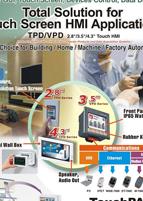 Touch Screen HMI Applications