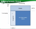 Screen Groups and Main Training Screens