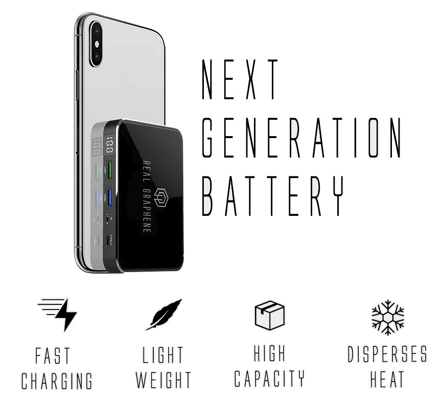 Get the G-Pro and G-Max Graphene Power Bank from ICP DAS USA