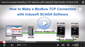 How to Make a Modbus Connection with Indusoft SCADA Software