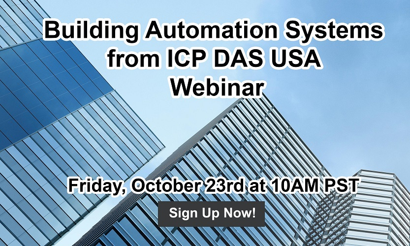 Building Automation Systems from ICP DAS USA