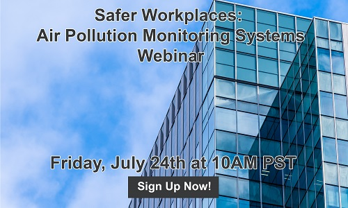 Safer Workplaces: Air Pollution Monitoring System