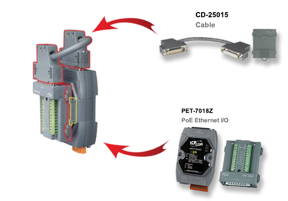 CD-25015 cable application diagram