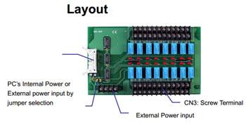 DB-16r layout