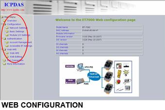 et7k web configuration