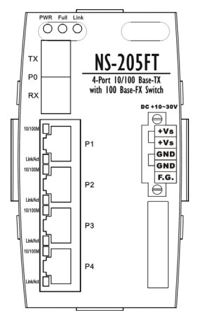 NS-205FT drawing
