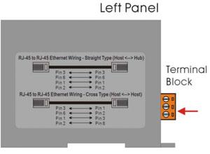 NS-205r left panel
