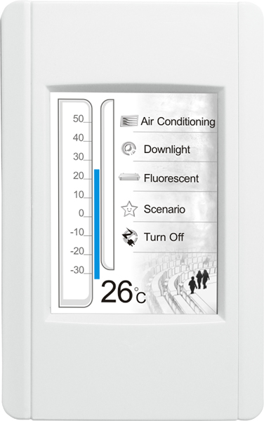 TPD-283 | 2 8'' Touch Screen HMI Controller, communicable over