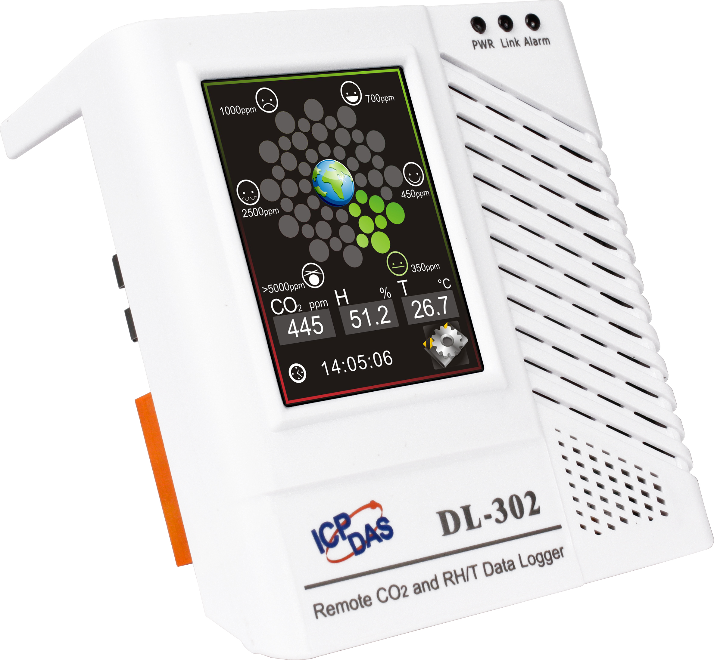 Dl 302 Co2 Temp And Humidity Data Logger With