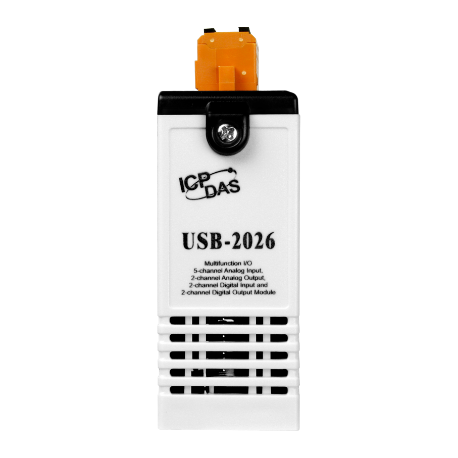 Usb 2026 5 Channel Analog Input 2 Output Current Logic Overvoltage Protection