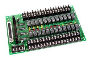 DB-24PR/24 (24V Power Relay Board) | 24-Channel Relay Output