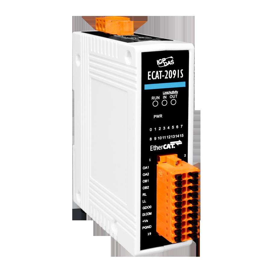 ECAT-2091S | EtherCAT single axis stepper motor controller