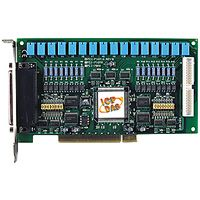 PCI Board with 8 Channels of Isolated Digital Input and 8 Relay Outputs. Includes one CA-4002 D-Sub connector