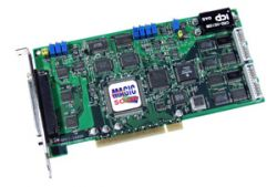 330KS/s 12-bit High Performance Analog and Digital I/O Board (Low Gain) with DB-8225 daughter board and cable