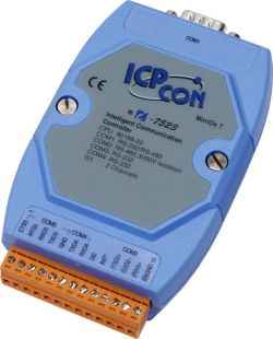 Embedded Communication Controller with 3 Ports.  I-7523D has Display. Supports operating temperatures between -25 to 75°C.