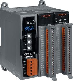 CANopen Embedded Device with 2 I/O Expansions.  Formerly I-8KCPS2.