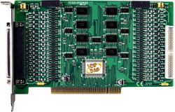 32 Channel Optically Isolated Digital Input and 32 Channel Optically Digital Open-Collector Output Board (Current Sourcing). Includes CA-4037B cable and two CA-4002 D-Sub connectors