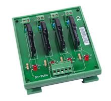 Solid State Relay Module with 4 Optically Isolated Digital Output Channels, 1 Form A with Optional Din Rail Mount