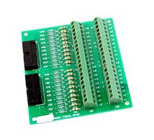 Screw Terminal Board with two 20-pin Flat Cables. Includes CA-3710(37-pin D-Sub Cable)