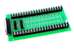Screw Terminal Board with 1M D-sub 37 Pin Cable. Includes CA-3710(37-pin D-sub Cable)