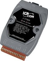 RS-232/485/422 to CAN Converter with Software Utility.  Supports operating temperatures between -25 to 75°C.