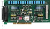 Universal PCI Board with 16-channel Isolated Digital Input and 16-channel Relay Output