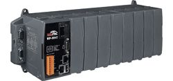 Ethernet ISaGRAF Programmable Automation Controller with 8 I/O slots(Dual-LAN: 10/100 Mbps) and Windows CE.NET 5.0