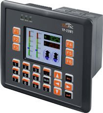 ViewPAC Touch Screen Controller with 3.5'' Display and Window CE.NET 5.0.  Programmable in VB.NET, C#, C++ and more.  IP65 Compliant Front Panel.  Comes with free eLogger data logging, control and monitoring software.