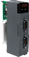 High Performance Data Acquisition I/O Module with 2 Isolated RS-232 Ports