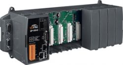 Embedded Linux Controller with Dual 10/100 Base-TX Ethernet Ports and 8 I/O slots, Linux Operating System. Supports operating temperatures between -25 ~ +75 °C (-13F ~ 167F).
