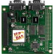 2-Port Isolated Protection CAN Communication PCI-104 Module with 9-pin D-sub connector