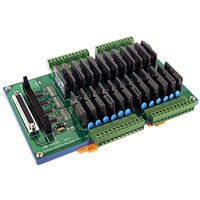 24-channel Solid State Relay Output Board. Includes CA-3710(37-pin D-sub Cable)