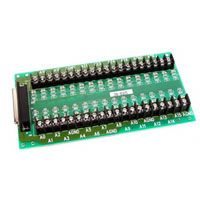Screw Terminal Board with 1M D-sub 37-pin Cable