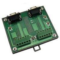 Screw Terminal Board for PISO-DA2 with 1.5 Meter D-sub 9-pin Cable