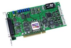 200KS/s 16-bit High Performance Analog and Digital I/O Board. Includes CA-4002 D-Sub connector