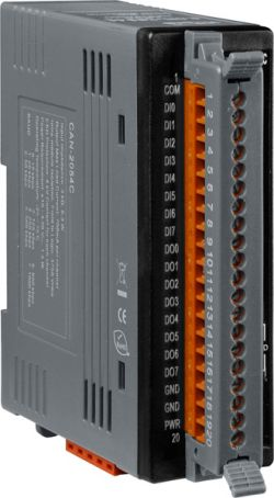 CANopen Slave Module of 8-Channel Isolated Digital Input and 8-Channel Isolated Digital Output