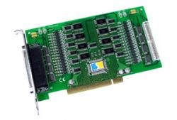 64 Channel Optically Isolated Open-Collector Digital Output Board. Includes CA-4037B able and two CA-4002 D-Sub connectors