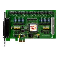 PCI Express x1, 8-channel isolated digital input.8-channel PhotoMos Relay output. Includes one CA-4002 D-Sub connector.