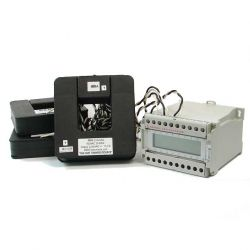 Smart Power Meter with High Accuracy, Clip on CT's and Modbus RTU Communication. Supports Bi-Directional Measurement