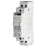 2 Pole 16 A Step relays for direct 35 mm rail (EN 50022) mounting