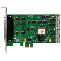 PCI Express Board with 24 DIO channels.  Supports Linux, DOS, Windows 98/NT/2000 and 32/64-bit Windows 7/Vista/XP.  Demo programs are provided for Turbo C++, Borland c++, Microsoft C++, Visual C++, Borland Delphi, Borland C++ Builder, Visual Basic, C#.NET, Visual Basic.NET and LabVIEW.