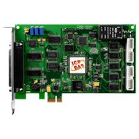 PCI Express, 32-ch, 12-bit, 110 kS/s Low Gain Multi-function DAQ Board. Includes CA-4002 D-Sub connector