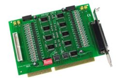 ISA Board with 64 Channels of Isolated Digital Input. Includes one CA-4037W cable and two CA-4002 D-Sub connectors.