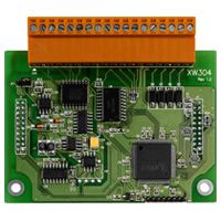 I/O Expansion Board with 6 Analog/Digital channels(+/- 5 V or 0 ~ 5 V), 1 Digital/Analog (+/- 5 V), 4-Digital Output channels, and 4 Digital Input channels. Works with WP-5000, LP-5000, and uPAC-5000 series.