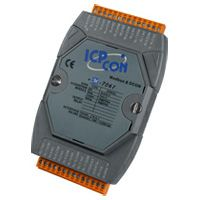 12-channel Form A Relay Output Module, communicable over Modbus RTU.  Supports operating temperatures from -25 °C ~ +75 °C