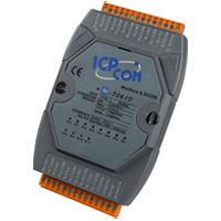 12-channel Relay Output Module with LED Display, communicable over Modbus RTU, supports operating temperatures from -25 °C ~ +75 °C