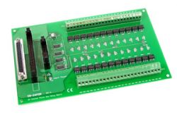 24 Channel Photo Mos Relay Output Board with 1.5 meter 50 Pin Flat Cable