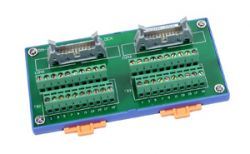 I/O Connector Block - 20 Pin Header. Includes CA-2010(20-pin Flat Cable 1m)
