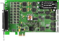 PCI Express, 16-channel D/A board (RoHS) Includes one CA-4002 D-Sub connector.