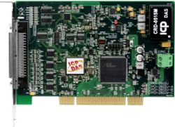 Universal PCI, 16-channel, 1 MS/s, 16-bit Analog Input, 2-channel, 16-bit Analog Output, 32-channel Programmable DIO High-speed Multifunction DAQ Board (8 K WORD FIFO), programmable in VB/VC/Delphi/BCB/VB.NET/C#.NET/VC.NET/MATLAB